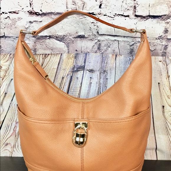 a7aef5b7d6 Calvin Klein Bags | Modena Leather Hobo Colour Tan | Poshmark